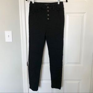 Forever 21 Button Fly Jeggings